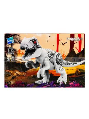 Развивающий Конструктор Динозавр Zuanma со звуком 46.1